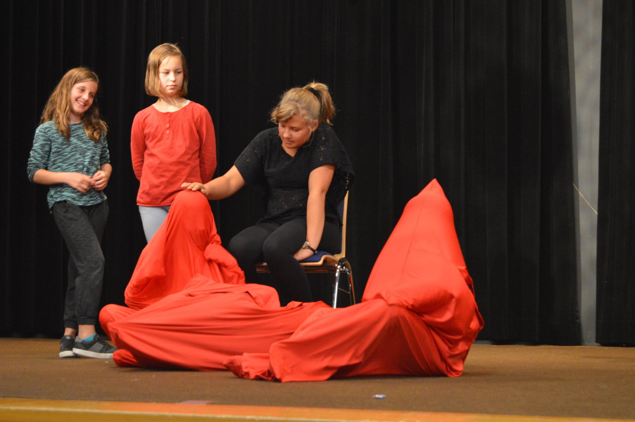 "10.2017: Proben Kindertheater Musical ""Nebelkind"""