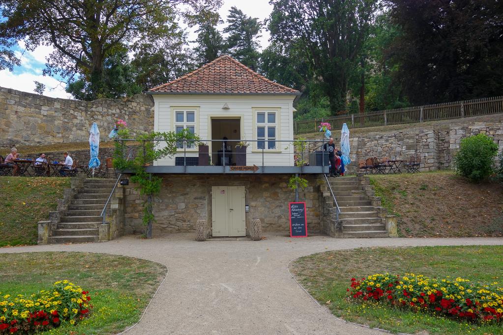 Das Teehaus im Terassengarten