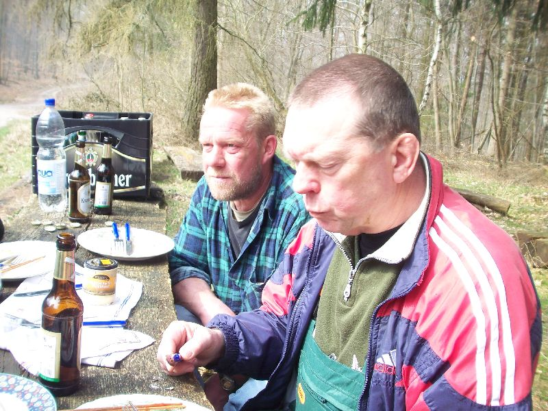 04.04.2009: Arbeitsgruppe im Einsatz