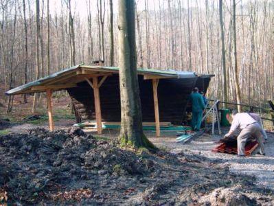 22.04.2006: Arbeitseinsatz/Umbau Braunschweiger Halle