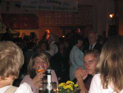15.10.2005: Heimatverein-Jubiläumsball