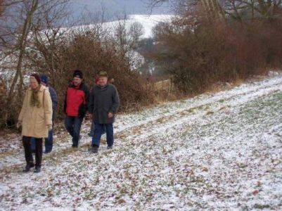 01.02.2009: Braunkohlwanderung
