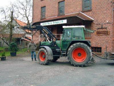 19.04.2008: Arbeitseinsatz Braunschweiger Halle