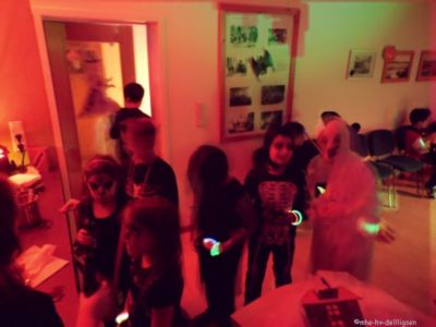 08.11.2014: Halloweendisko