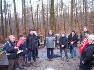 06.12.2009: Weihnachtswanderung der Heimatvereine
