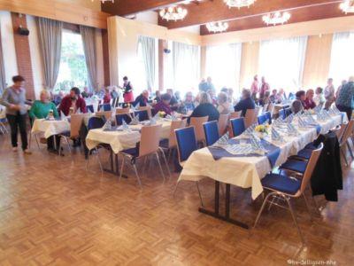 11.10.2015: Katerfrühstück zum 60jährigen Jubiläum