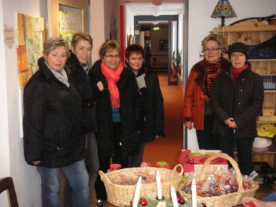 19.12.2009: Frauengruppe unterwegs