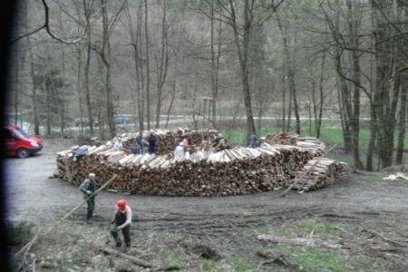 04.2013: Meileraufbau