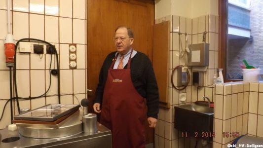 11.02.2014: Ü50-Gruppe besucht Senfmühle