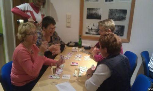 02.11.2012: Spieleabend für Frauen
