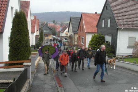 08.12.2013: Weihnachtswanderung Heimatvereine