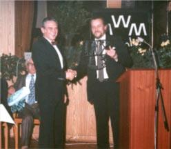 H. Apel und Bürgermeister G. Otte