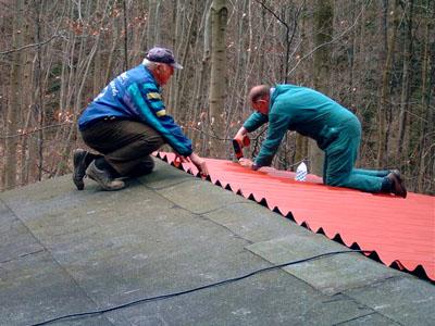 Die Braunschweiger Hütte bekommt ein neues Dach