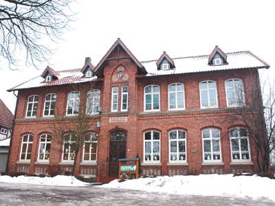 Die alte Schule in der Rotestraße.