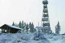 Der Raabeturm im Winter