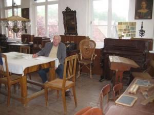 Friedel Heise im Museum