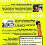 Mühlenfest 2010 Flyer