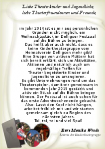 Theaterbrief